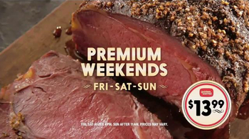 Golden Corral Premium Weekends TV Spot, 'Love at First Bite' - Thumbnail 6