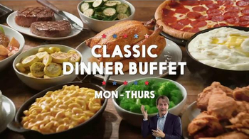 Golden Corral Premium Weekends TV Spot, 'Love at First Bite' - Thumbnail 7