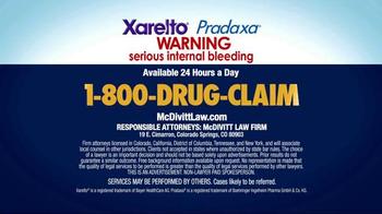 McDivitt Law Firm TV Spot, 'Xarelto & Pradaxa' - Thumbnail 6