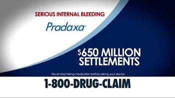 McDivitt Law Firm TV Spot, 'Xarelto & Pradaxa' - Thumbnail 4