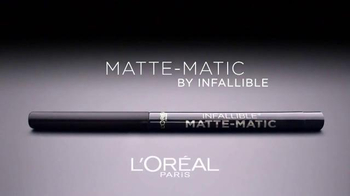 L'Oreal Paris Infallible Matte-Matic TV Spot, 'Captivating' - Thumbnail 3