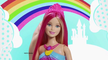 Barbie Dreamtopia Rainbow Lights Mermaid TV Spot, \'Watch Her Glow\'