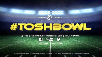 Comedy Central TV Spot, 'TOSHBOWL' - Thumbnail 8