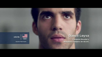 Milk Life TV Spot, 'Fuerte' con Danell Leyva [Spanish]