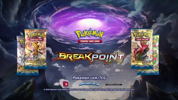 Pokemon Trading Card Game XY - BREAKpoint TV Spot, 'Expansion' - 928 commercial airings