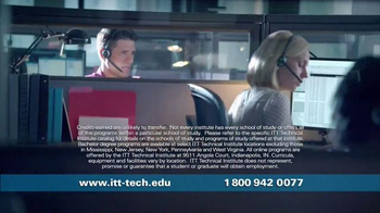 ITT Technical Institute TV Spot, 'Qualified Candidates' - Thumbnail 2