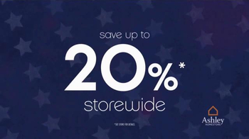 Ashley Homestore Presidents' Day Preview Sale TV Spot, 'Many Selections' - Thumbnail 3