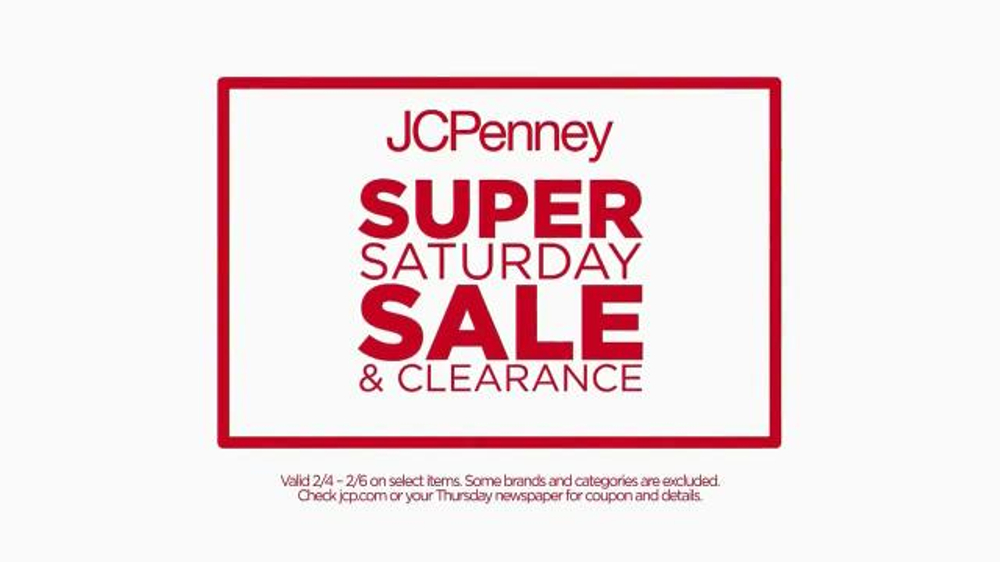 JCPenney Super Saturday Sale & Clearance TV Commercial, 'Jewelry & Towels'
