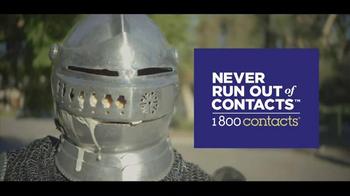 1-800 Contacts TV Spot, 'Knights' - Thumbnail 10