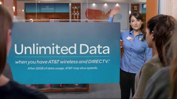 AT&T Unlimited Plan TV Spot, 'Instant Crowd' - Thumbnail 6