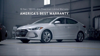 2017 Hyundai Elantra TV Spot, 'America's Best Warranty: As Good as This' [T2] - Thumbnail 2