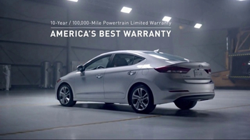 2017 Hyundai Elantra TV Spot, 'America's Best Warranty: As Good as This' [T2]