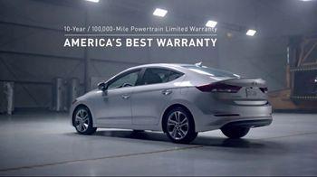 2017 Hyundai Elantra TV Spot, 'America's Best Warranty: As Good as This' [T2]