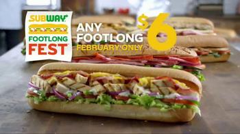 Subway Footlong Fest TV Spot, 'Six Dollars Only' - Thumbnail 1