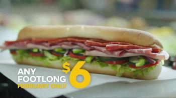 Subway Footlong Fest TV Spot, 'Six Dollars Only' - Thumbnail 4