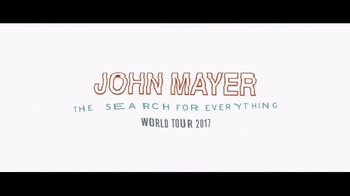 Live Nation TV Spot, 'John Mayer: The Search for Everything' - Thumbnail 4