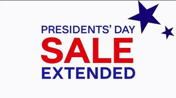Ashley HomeStore Presidents Day Sale TV Spot, 'Final Week Extended' - Thumbnail 1