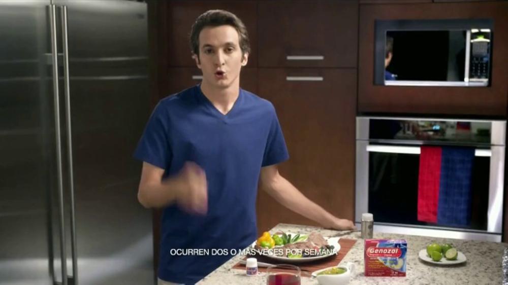 Genozol TV Commercial, 'Alivia la acidez estomacal'