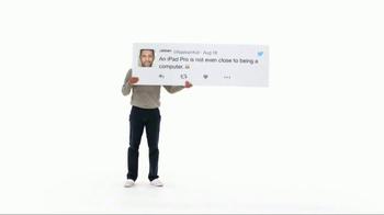Apple iPad Pro TV Spot, 'Better Than a Computer' - Thumbnail 2