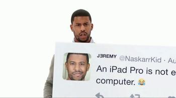 Apple iPad Pro TV Spot, 'Better Than a Computer' - Thumbnail 8