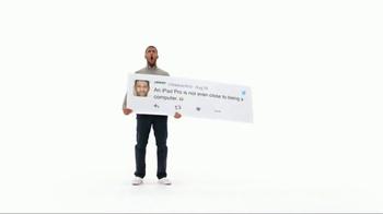 Apple iPad Pro TV Spot, 'Better Than a Computer' - Thumbnail 9