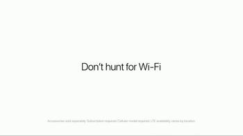 Apple iPad Pro TV Spot, 'Don't Hunt for Wi-Fi' - Thumbnail 9