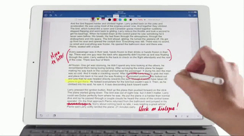 Apple iPad Pro TV Spot, 'Do More With Word' - Thumbnail 6
