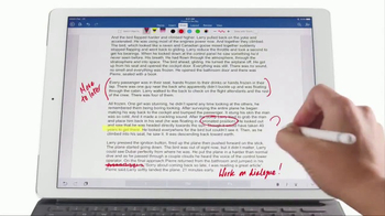 Apple iPad Pro TV Spot, 'Do More With Word' - Thumbnail 7