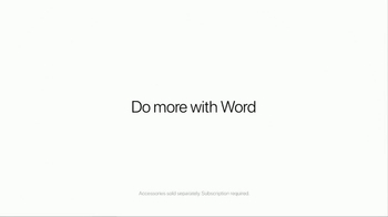 Apple iPad Pro TV Spot, 'Do More With Word' - Thumbnail 9