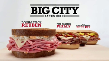 Arby's Big City Sandwiches TV Spot, 'Looking' - 1647 commercial airings