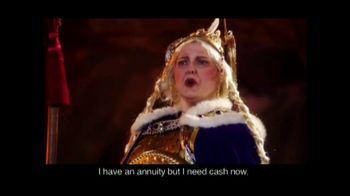 J.G. Wentworth TV Spot, 'Viking Opera: Cash Advance'