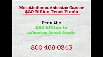 AkinMears TV Spot, 'Mesothelioma Asbestos Cancer Trust Funds' - Thumbnail 1