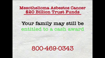 AkinMears TV Spot, 'Mesothelioma Asbestos Cancer Trust Funds'