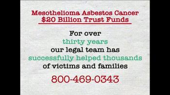 AkinMears TV Spot, 'Mesothelioma Asbestos Cancer Trust Funds' - Thumbnail 4