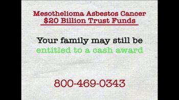 AkinMears TV Spot, 'Mesothelioma Asbestos Cancer Trust Funds'