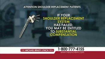 Michael Brady Lynch Firm TV Spot, 'Shoulder Replacement Recall' - Thumbnail 6