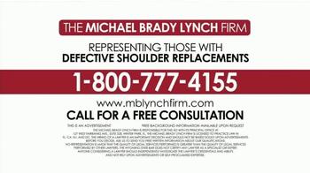 Michael Brady Lynch Firm TV Spot, 'Shoulder Replacement Recall' - Thumbnail 7