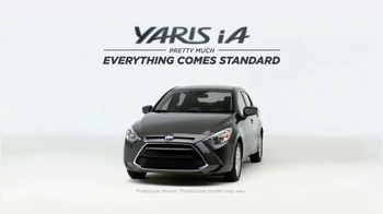 2017 Toyota Yaris iA TV Spot, 'The Bells & Whistles Package' [T1] - Thumbnail 1