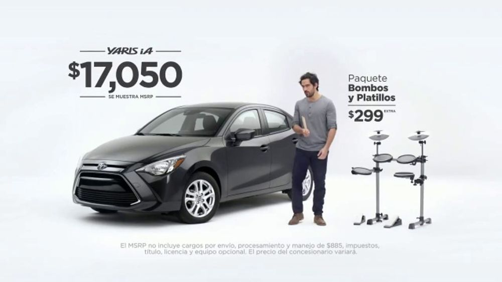 Toyota Camry Commercial Song >> 2017 Toyota Yaris iA TV Commercial, 'Bombas y platillos ...