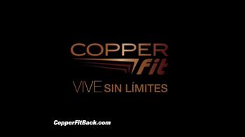Copper Fit Back Pro TV Spot, 'Soporte lumbar' con Brett Favre [Spanish] - Thumbnail 9