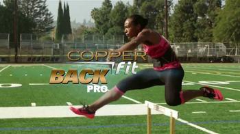 Copper Fit Back Pro TV Spot, 'Soporte lumbar' con Brett Favre [Spanish] - 90 commercial airings