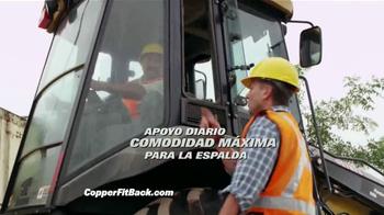 Copper Fit Back Pro TV Spot, 'Soporte lumbar' con Brett Favre [Spanish] - Thumbnail 7