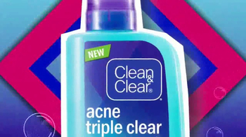 Clean & Clear Acne Triple Clear Bubble Foam Cleanser TV Spot, 'Three Ways' - Thumbnail 3