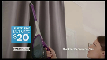 Black & Decker 2-IN-1 Stick & Hand Vacuum TV Spot, 'What Others Are Saying' - Thumbnail 3
