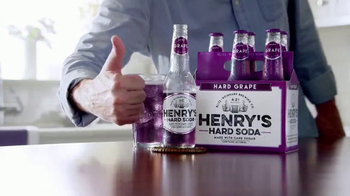 Henry's Hard Grape Soda TV Spot, 'This Guy' - Thumbnail 3