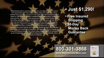 Westminster Mint TV Spot, 'American Gold Eagle' - Thumbnail 6