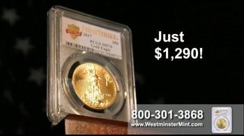Westminster Mint TV Spot, 'American Gold Eagle' - Thumbnail 3