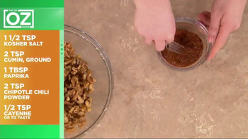 California Walnuts TV Spot, 'Spiced Walnut Recipe' Featuring Dr. Oz - Thumbnail 6