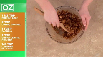 California Walnuts TV Spot, 'Spiced Walnut Recipe' Featuring Dr. Oz