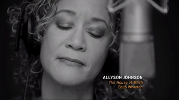 Audible.com TV Spot, 'Allyson Johnson Performs From